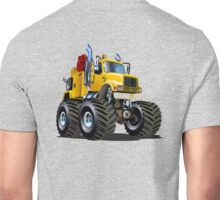Cartoon Monster Tow Truck Unisex T-Shirt