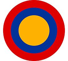 Roundel of Armenian Air Force Photographic Print
