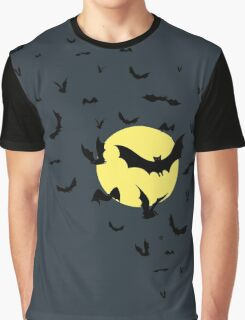 Bat Swarm Graphic T-Shirt