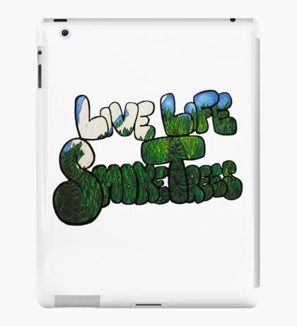 Live Life Smoke Trees iPad Case/Skin