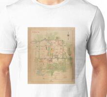 Map Of Peking 1900 Unisex T-Shirt