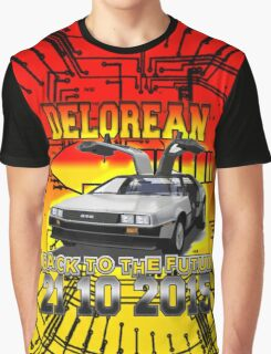 Delorean Back To The Futur Graphic T-Shirt