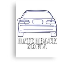 Hatchback mafia Canvas Print