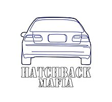 Hatchback mafia Photographic Print
