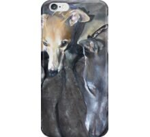 Sleeping Whippets  iPhone Case/Skin