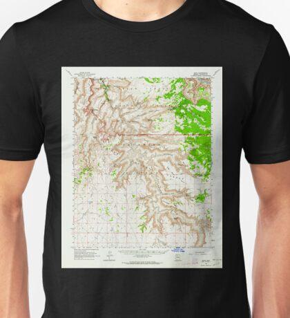 USGS TOPO Map Arizona AZ Supai 315082 1962 62500 Unisex T-Shirt