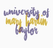 University of Mary Hardin-Baylor Kids Tee