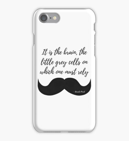 Little Grey Cells iPhone Case/Skin