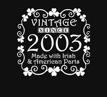Irish American Since 2003 Classic by TeeCreations Unisex T-Shirt