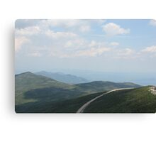 From Whiteface Mountain Canvas Print