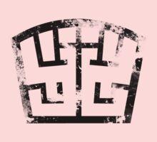 SOLDIER black grunge One Piece - Short Sleeve