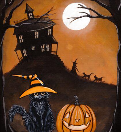 The Halloween Watcher Sticker