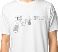 Han Solo DL-44 Line Art Classic T-Shirt