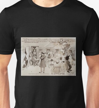 Performing Arts Posters McIntyre Heaths Comedians the epitome of vaudeville 0355 Unisex T-Shirt