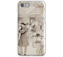Performing Arts Posters McIntyre Heaths Comedians the epitome of vaudeville 0355 iPhone Case/Skin