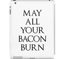 May All Your Bacon Burn || Howl's Moving Castle iPad Case/Skin