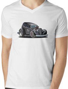 Cartoon hotrod Mens V-Neck T-Shirt