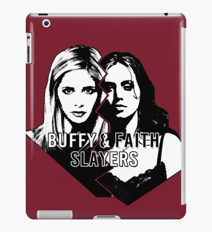 Buffy & Faith: SLAYERS iPad Case/Skin