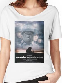 Remembering Private Harambe Women's Relaxed Fit T-Shirt