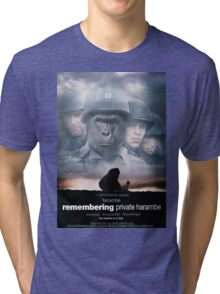Remembering Private Harambe Tri-blend T-Shirt