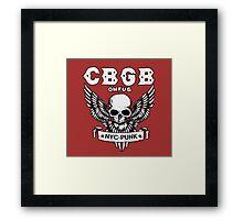 CBGB (NYC-PUNK) 2 Framed Print