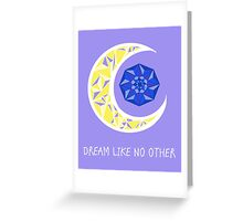 Crescent & Crystal Greeting Card