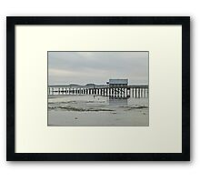 piers end Framed Print