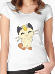Meowth! Thats right Women's Fitted Scoop T-Shirt
