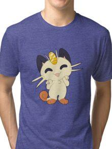 Meowth! Thats right Tri-blend T-Shirt