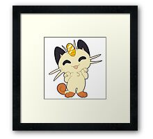 Meowth! Thats right Framed Print