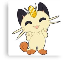 Meowth! Thats right Canvas Print
