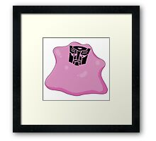 Transformers, Ditto In Disguise Framed Print