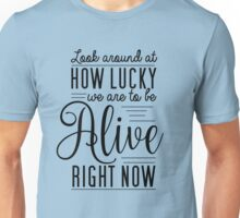 Hamilton Musical Quote Shirt Unisex T-Shirt