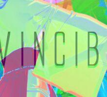 Invincible Sticker