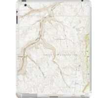 USGS TOPO Map Arizona AZ Bitter Springs 310483 1985 24000 iPad Case/Skin