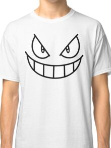 Gengar Face - Ghost Pokemon Classic T-Shirt