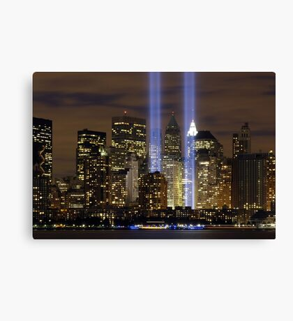 New York Tribute Canvas Print