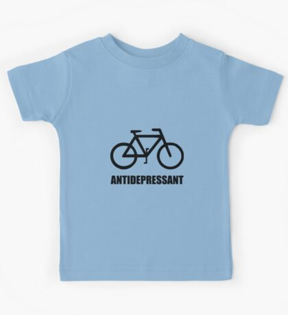 Antidepressant Bike Kids Tee