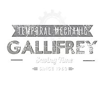 Temporal Mechanic Photographic Print