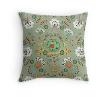 Flower in the Sky Pattern Throw Pillow