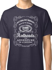Redheads: 100% Trouble! by stlgirlygirl Classic T-Shirt