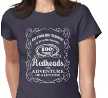 Redheads: 100% Trouble! by stlgirlygirl Womens Fitted T-Shirt