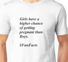 Fun Facts #1 Unisex T-Shirt