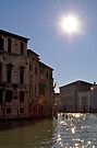 Winter Sun on the Grand Canal by Tiffany Dryburgh