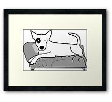 I LOVE MY DOGS_22 Framed Print