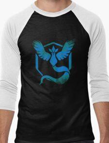 Team Mystic grunge blu Men's Baseball ¾ T-Shirt