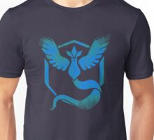 Team Mystic grunge blu Unisex T-Shirt