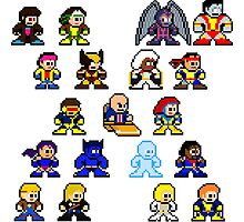 8-bit 90's X-Men by 8 Bit Hero