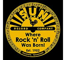WHERE ROCK N ROLL WAS BORN Photographic Print