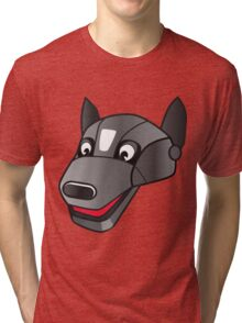 I LOVE MY DOGS_25 Tri-blend T-Shirt